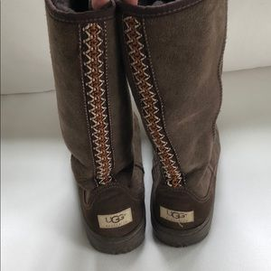 Chocolate Brown Ultra Tall UGGs